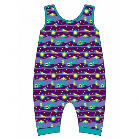 Gecko Space Odyssey Dungarees