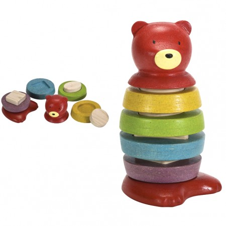 Plan Toys Stacking Bear