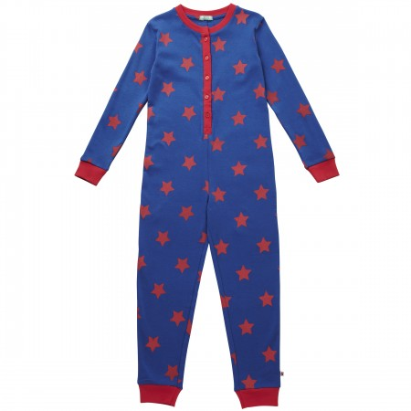 Piccalilly Red Star Onesie