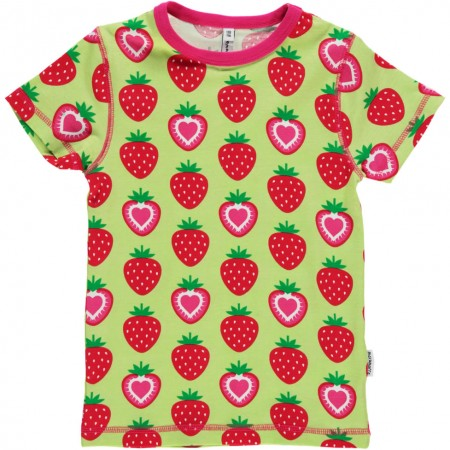Maxomorra SS Strawberry Top