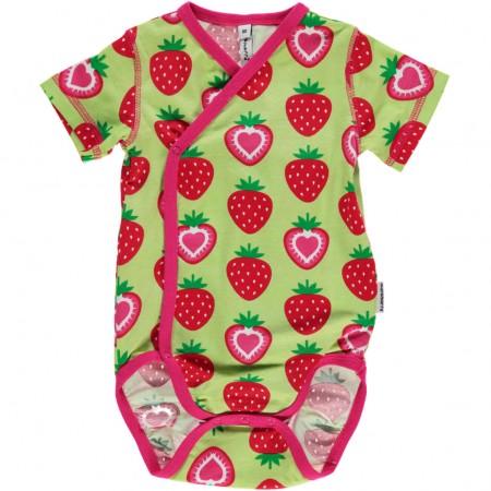 Maxomorra SS Strawberry Wrap Body