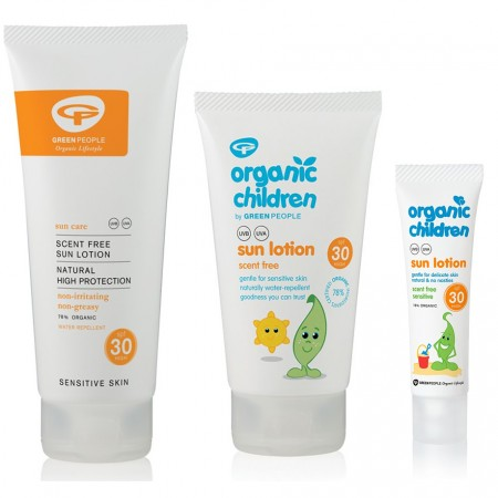 Green People Family Sun Bundle