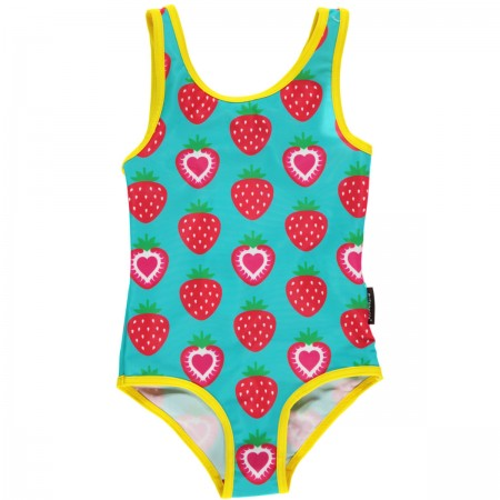 Maxomorra Strawberry Swimsuit
