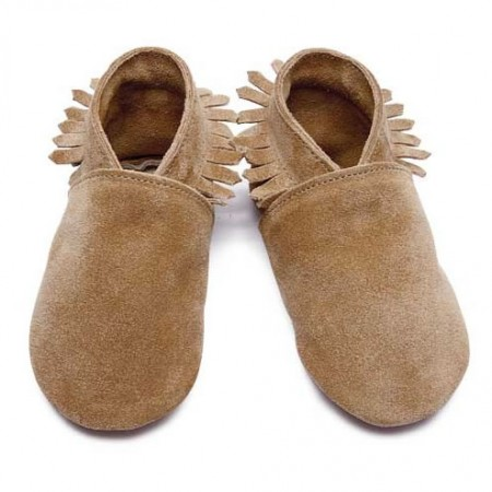 Inch Blue Tan Moccasin Shoes