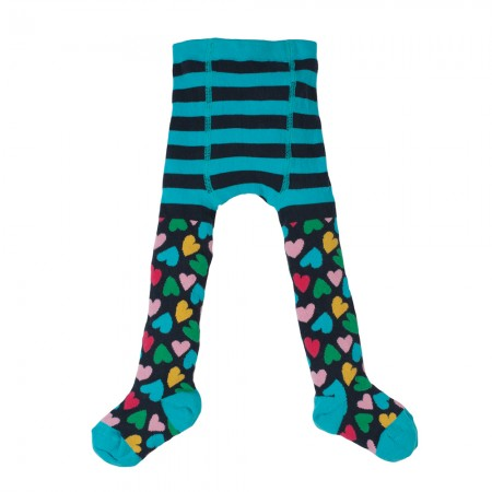 Frugi Hearts Little Norah Tights