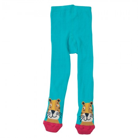Frugi Leopard Twinkle Toes Tights