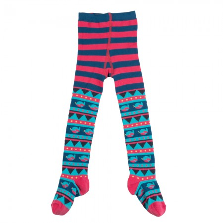 Frugi Robin Fairisle Norah Tights