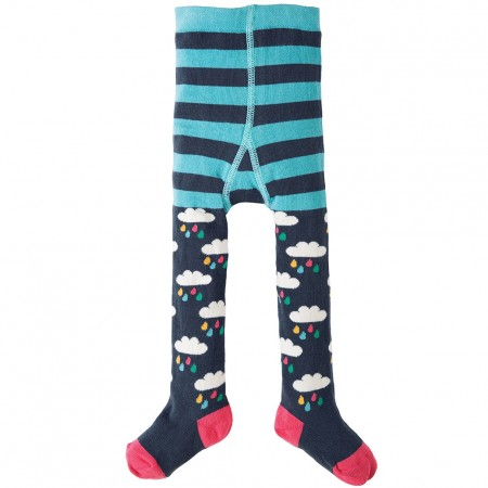 Frugi Rain Clouds Little Norah Tights