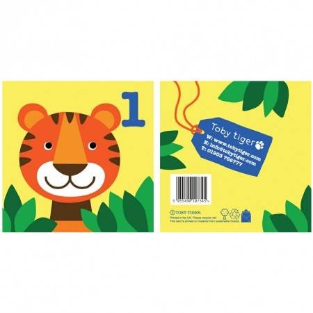 Toby Tiger, Tiger 1st Birthday Card