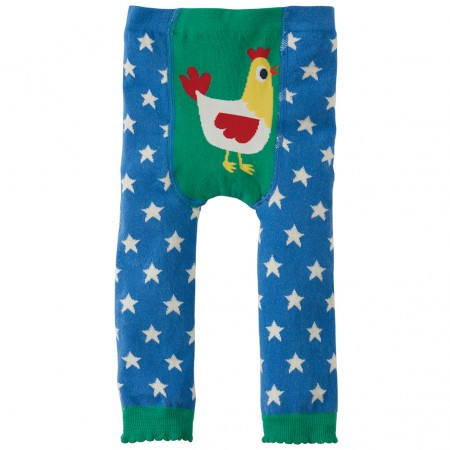 Frugi Hen Little Knitted Leggings