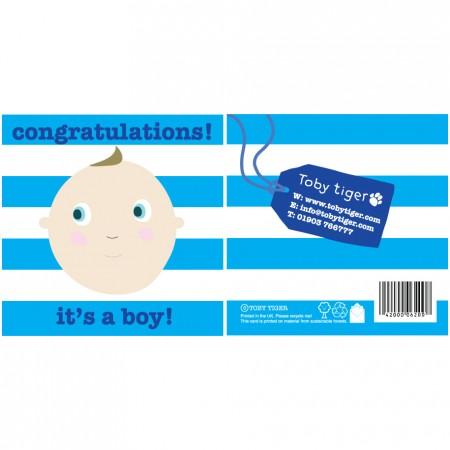 Toby Tiger It's a Boy Card