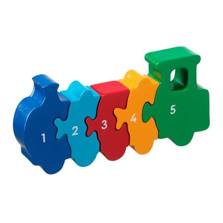 Lanka Kade Train 1-5 Jigsaw