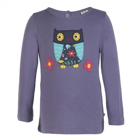 Frugi Owl Lottie Applique Top