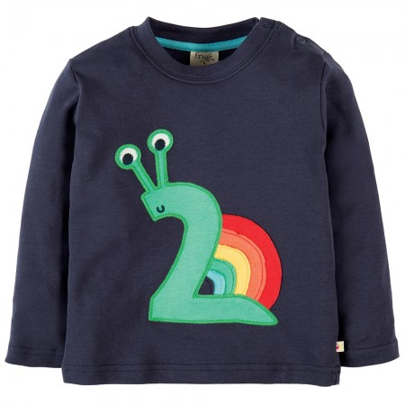 Frugi Two Snail Magic Number Top