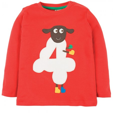 Frugi Four Sheep Magic Number Top