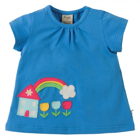 Frugi House Amber Applique Top