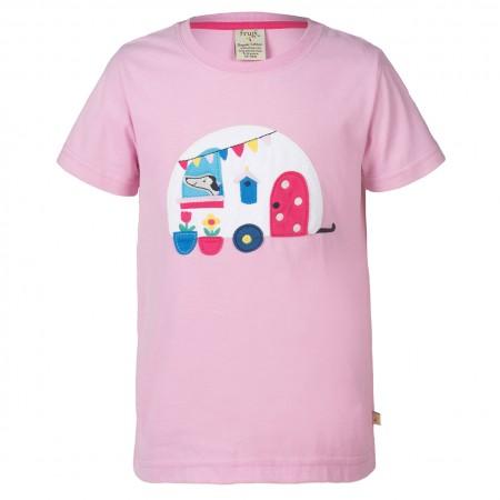 Frugi Caravan Gwenver Applique T-Shirt