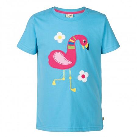 Frugi Flamingo Gwenver Applique T-Shirt