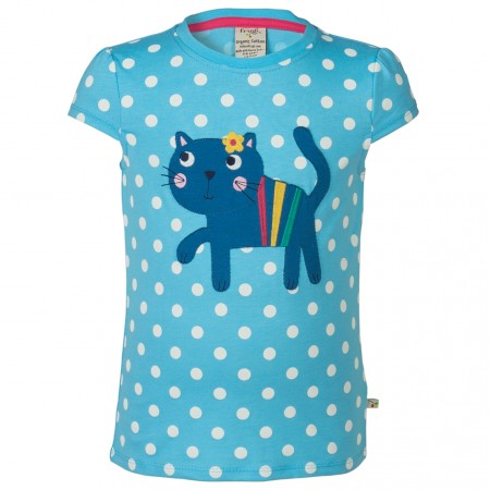 Frugi Cat Poldhu Applique Top