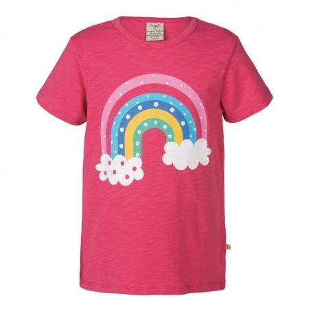 Frugi Rainbow Print Praa T-shirt
