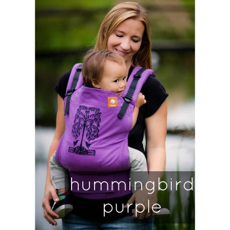 Tula Standard Baby Carrier - Hummingbirds Purple