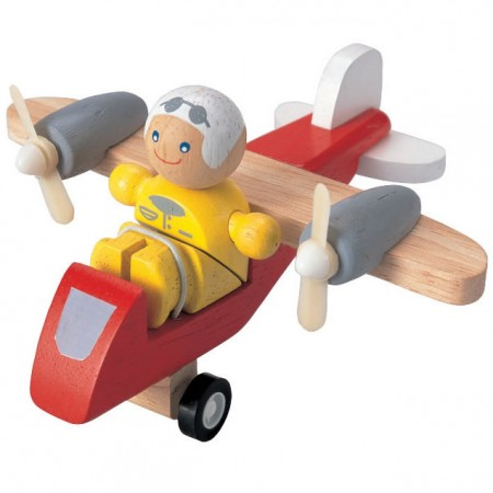 Plan Toys Turboprop Aeroplane with Pilot PlanWorld