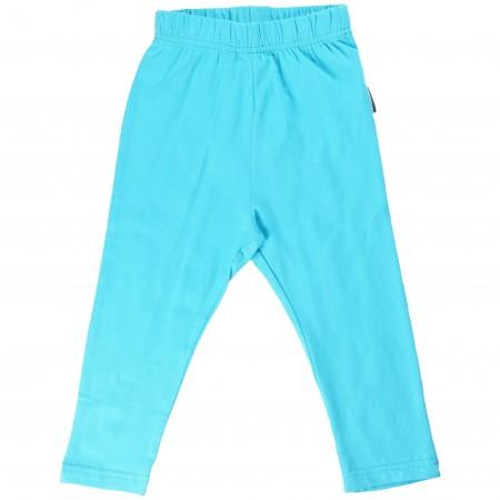 Maxomorra Turquoise Baby Leggings