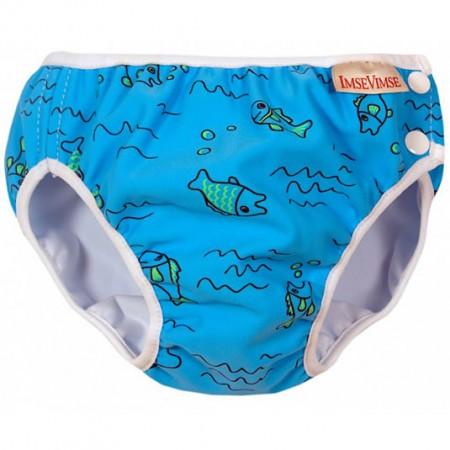 Imse Vimse Swim Nappy Turquoise Fish