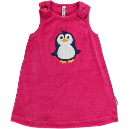 Maxomorra Penguin Embroidered Dress