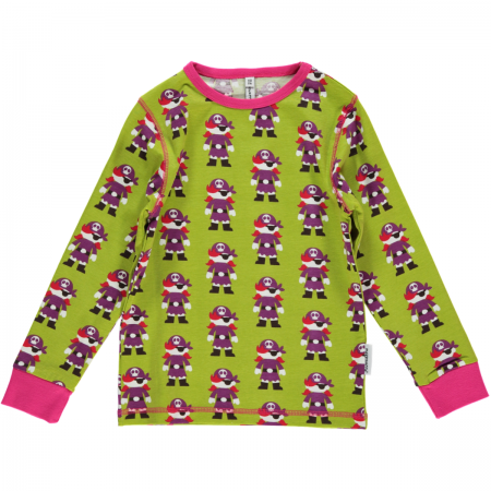 Maxomorra Green Pirate LS Top