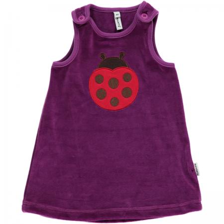 Maxomorra Embroidered Ladybug Dress
