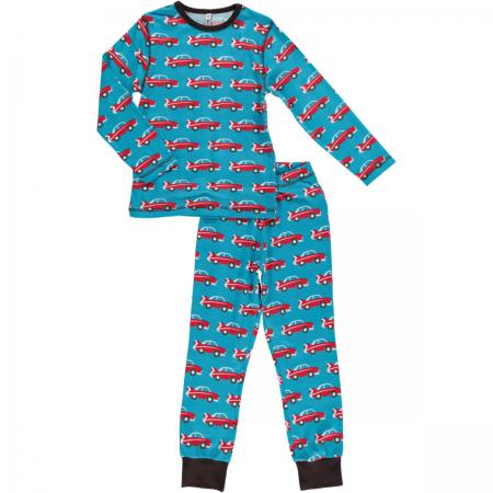 Maxomorra Car LS Pyjamas