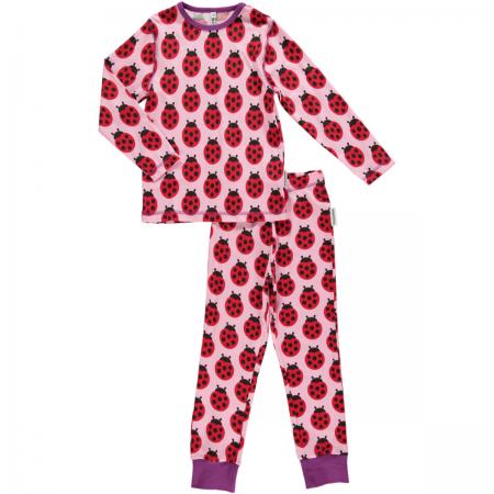 Maxomorra Ladybug LS Pyjamas