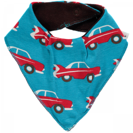 Maxomorra Car Dribble Bib