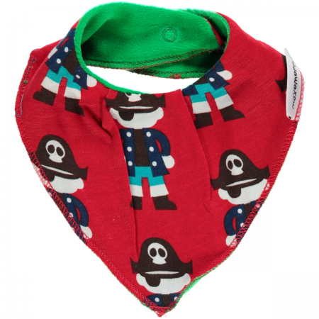 Maxomorra Red Pirate Dribble Bib