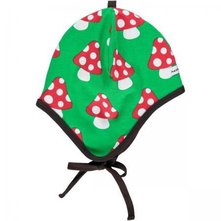 Maxomorra Mushroom Baby Bonnet Hat