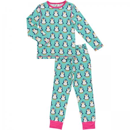 Maxomorra Penguin LS Pyjamas