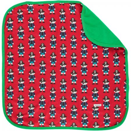 Maxomorra Red Pirate Blanket