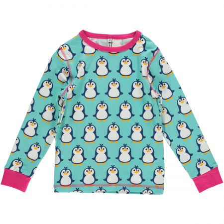 Maxomorra Penguin LS Top