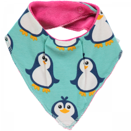 Maxomorra Penguin Dribble Bib