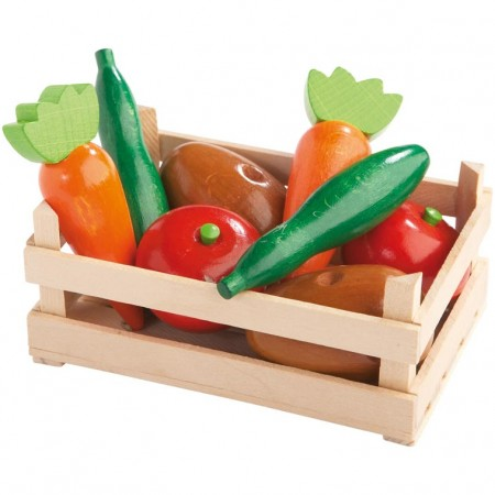 Haba Wooden Vegetable Crate