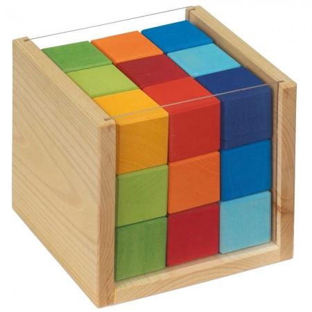 Glückskäfer 27 Coloured Cubes