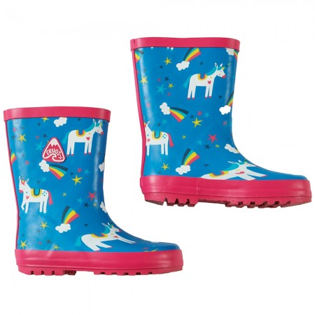 Frugi Magic Rainbow Puddle Buster Wellies