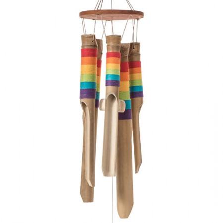 Rainbow Bamboo Windchime