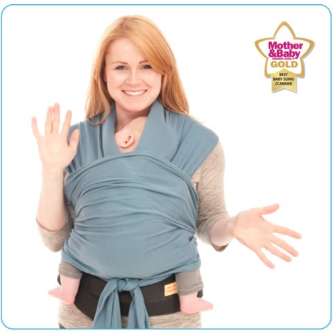 Tots Bots Papoozle Baby Carrier Teal Colour