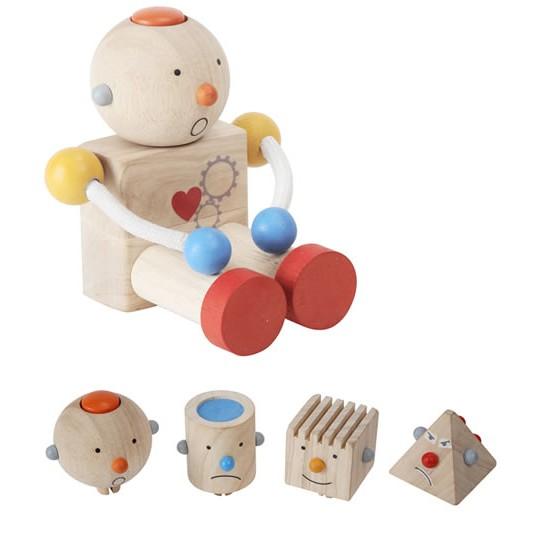 preschool robot toy plan toys build a robot 283