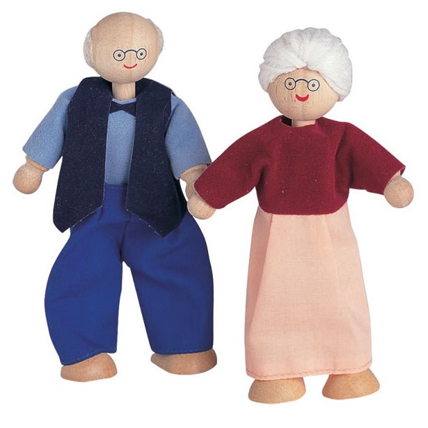 Toys For Grandparents House : Plan toys grandmother and grandfather dolls house