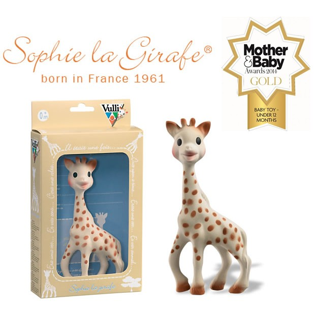 Sophie the Giraffe natural rubber teethig toy for baby ...