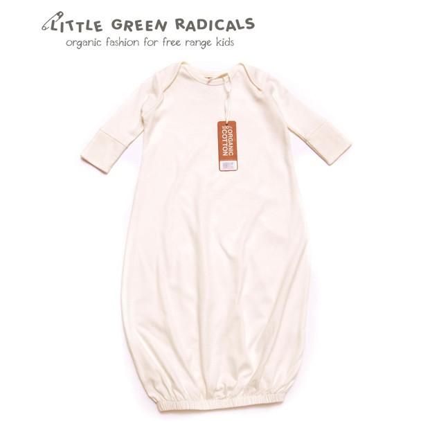 Little Green Radicals Organic Cotton Baby Night Gown