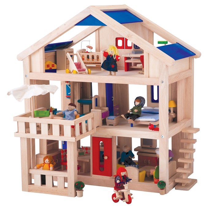 Plan Toys Terrace Dolls House